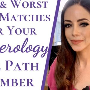 Most and Least Compatible Matches For Life Path Number | Numerology Life Path Number Compatibility
