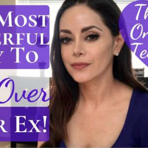 The Most Power Method to Get Over Your Ex! | That No One Will Tell You | 3 Step Cord Cutting Method