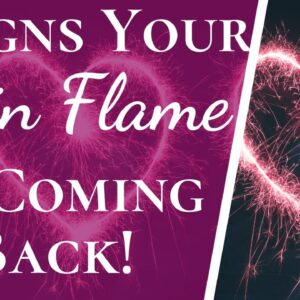 5 Huge Twin Flame Reunion Signs | 5 Signs Your Twin Flame Is Coming Back!