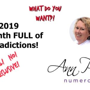 April 2019 Numerology Forecast - A Month FULL of Contradictions!