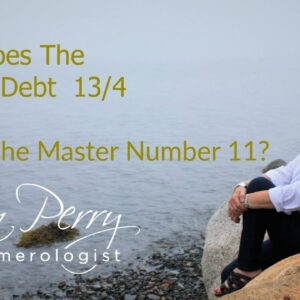 How Does The Karmic Debt 13/4 Affect a Master Number 11?