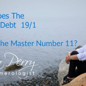 How Does the Karmic Debt of 19/1 Affect a Master Number 11?