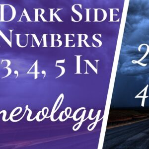 Negatives And Positives Of Numbers 1, 2, 3, 4, 5 In Numerology | The Good & The Bad