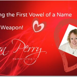 Knowing the First Vowel in a Name is Your Secret Weapon!