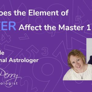 How Does the Element of Water Affect the Master #11's? Featuring Holly Poole Astrologer!
