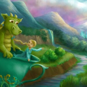 Lynnie and the Gentle Dragon - a magical children's book