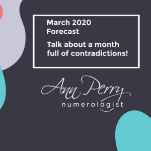 March 2020 Forecast - Talk About a Month Full of Contradictions!