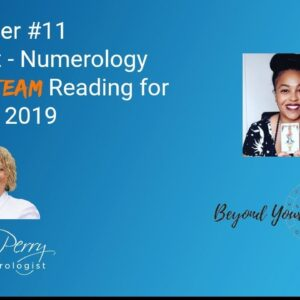 Master 11  Tarot - Numerology TAG TEAM reading for June 2019