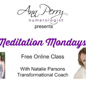 Meditation Mondays! Free Online Classes!