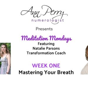 Meditation Mondays Wk 1 - Stay In the Present By Mastering Your Breath!