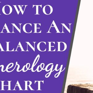 Balance An Imbalanced Numerological Chart In 2 Seconds | Easy Way To Become More Balanced