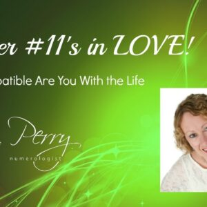 Numerology - Master #11 in LOVE With a Life Path #3