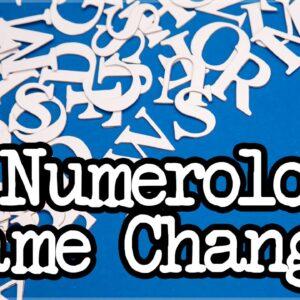 Numerology Name Change Advice (Numerology Name Correction)