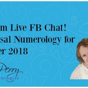 Random Live FB chat! Universal Numerology for October 2018