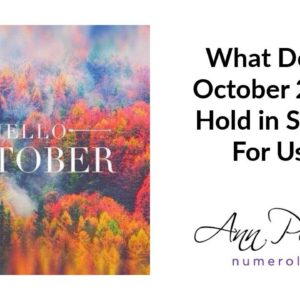 What Does October 2019 Hold In Store For You?