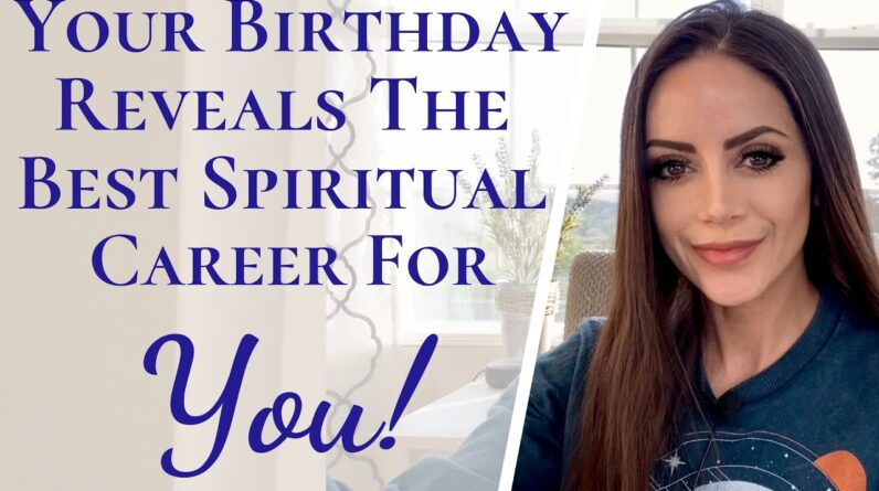 Numerology Reveals The Best Spiritual Career For You | Best Spiritually Based Work For Lightworkers