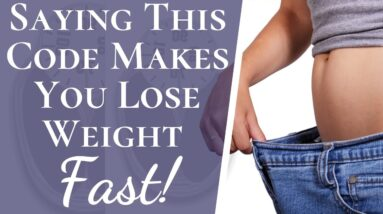 Hidden Numerology Code Helps You Lose Weight FAST | Hack to Lose Weight Fast That Actually Works