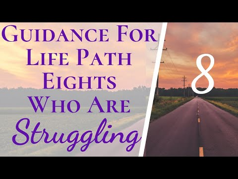 Guidance For Life Path 8s & Anyone Struggling With Money | Make Life Easier Life Path 8 & Master 44
